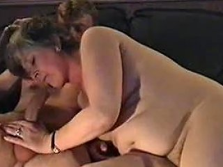 Chubby Amateur Mom Masturbates And Blows