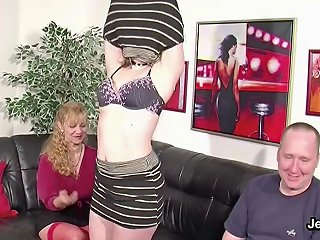 German Ugly Teen Lucy Get First Fuck By Step Dad And Mom