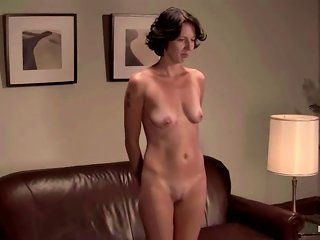 Hot Brunette Victoria K Gets Her Vag Toyed While Being