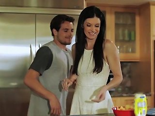 Smalltits Milf Doggystyled In The Kitchen Free Hd Porn E2
