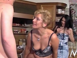 German Teen Assists Mature Couple Free Porn Ab Xhamster